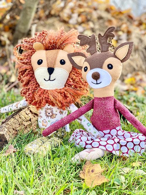 Custom Personalized Animal Doll