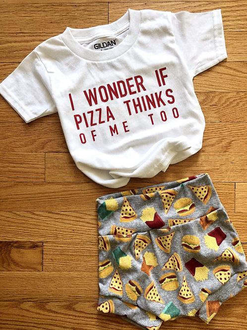 Pizza Bummies and T-shirt (2 piece set)