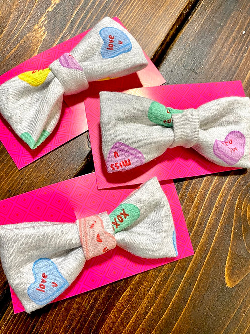 Valentine Candy Bow Tie
