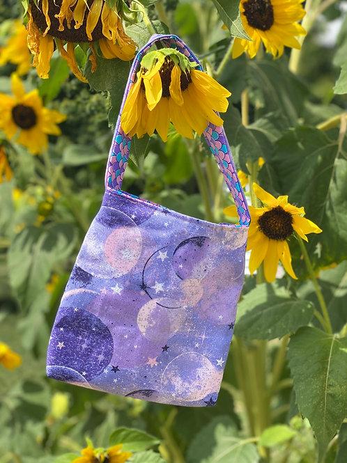 Pink Moon & Purple Scales Reversible Bag