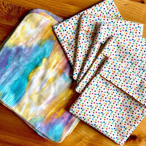 Watercolor Zero Waste Starter Pack