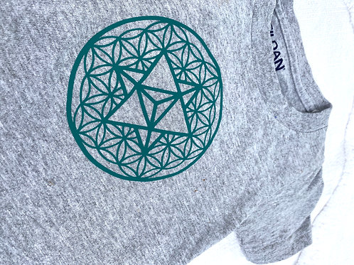 Flower of Life Merkaba T-shirt