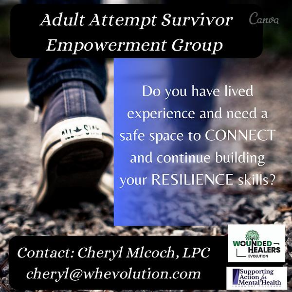 Adult Attempt Survivor Empowerment Group