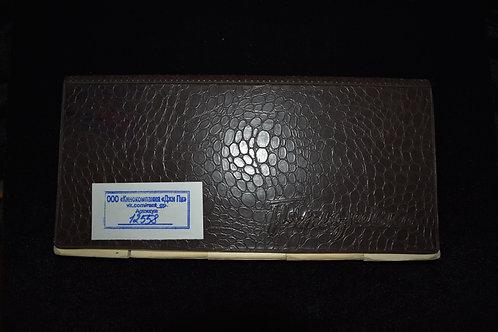 "Блокнот коричневый ""Пятидневка"" (арт.1220-р | ОСТ 81-43-72)"