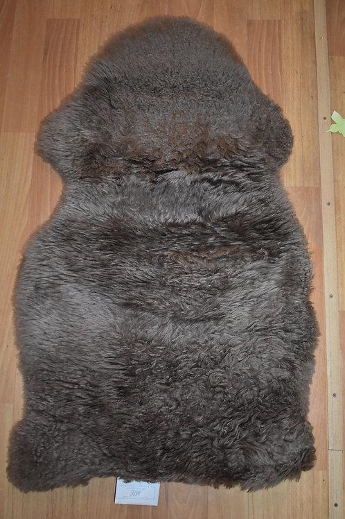 Коврик 90см. прикроватный бежевый из овчины в виде шкуры SKOLD IKEA