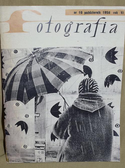 Журнал Fotografia 1958 год бутафория
