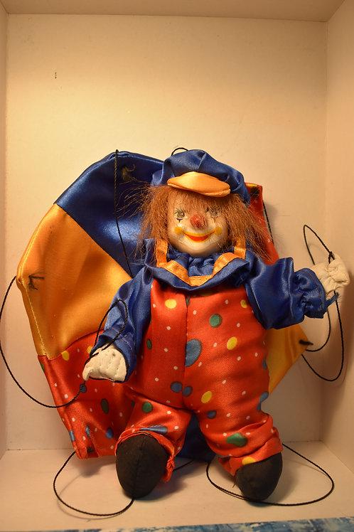 Клоун на парашюте (сувенир)
