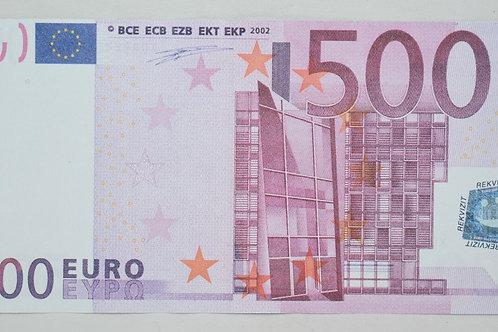 Денежные купюры 500 EURO МУЛЯЖ!