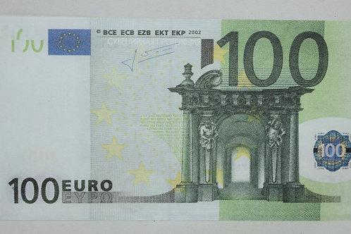 Денежные купюры 100 EURO МУЛЯЖ!
