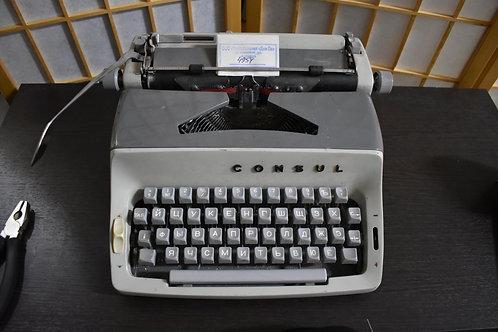 Машинка печатная CONSUL 221 1960гг.