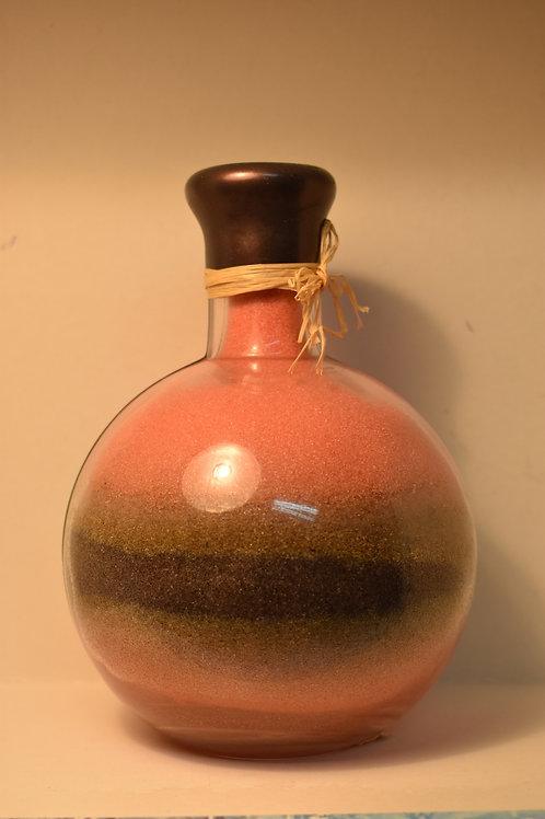 Бутылки декоративные с цветной солью