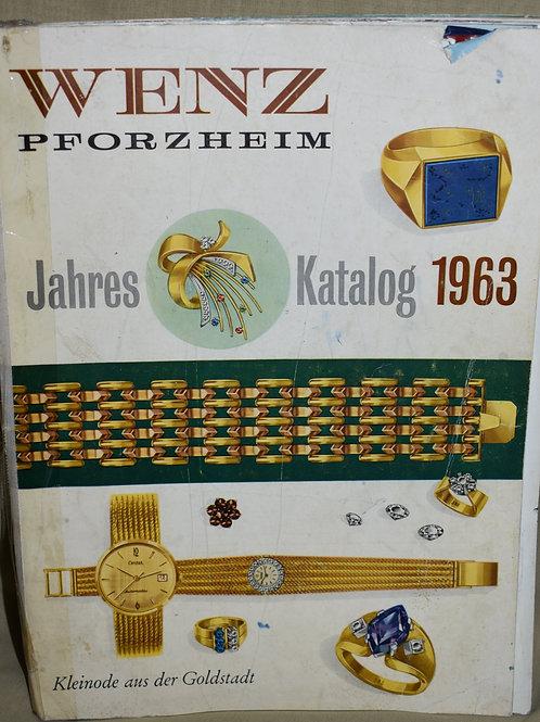 Каталог WENZ Pforzheim Jahres 1963г.
