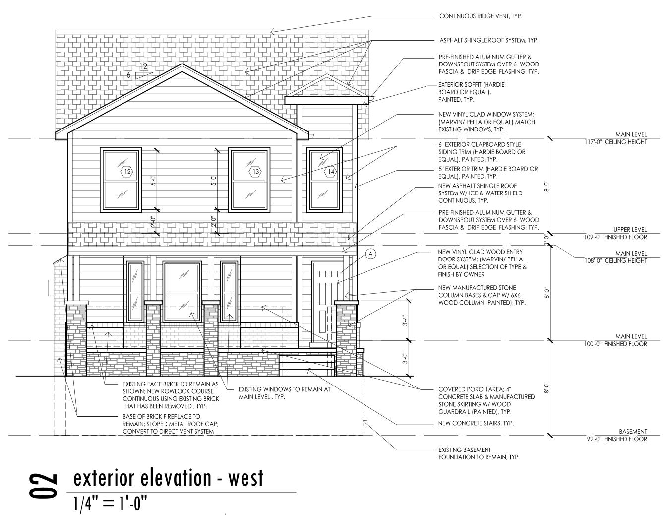 08 - B4 Cherokee Residence-elev 1
