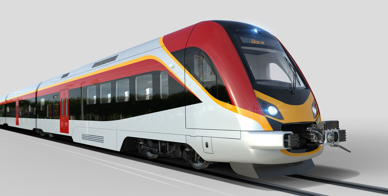 Macedonia EMU Train Set