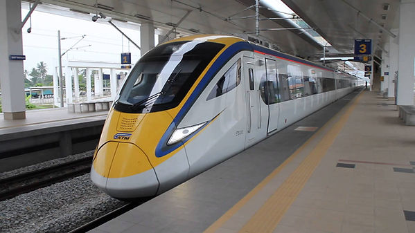 Malaysia ETS Intercity EMU Train Set 2.j