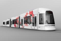 低地板-广州海珠有轨电车(效果图)