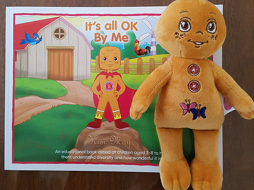 'It's all OK By Me' book & Support Doll