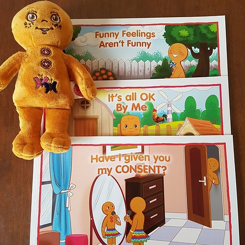 Funny Feelings Trilogy & Support Doll
