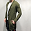 Thumbnail: Autumn Winter Sweater Men Standard Wool Hole Solid Color Casual Turn-Down Collar