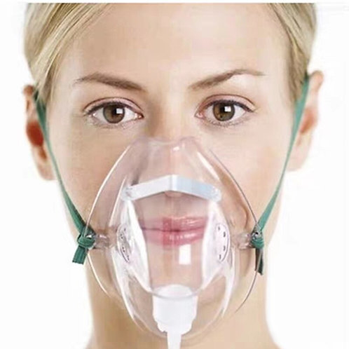 2pcs Yuwell Oxygen Mask Medical Face Mask With Tube Oxygen Concentrator Oxygen G