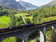 Harry Potter and the spectacular viaduct.