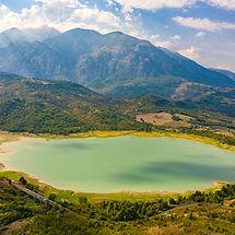 Casoli Lake - Aerial Photography - Italy