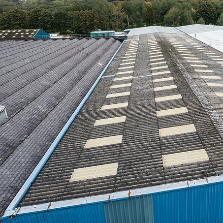 Warehouse Roof Survey - Aerial Inspectio
