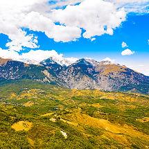 Miaella Mountain Range - Aerial Photogra