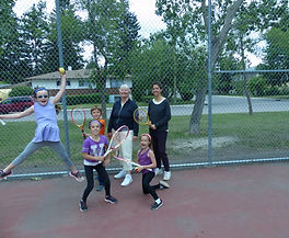 Come and take lessons with TennFitt Tennis in Calgary, Alberta