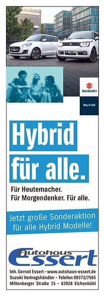 Autohaus Essert Sonderaktion Suzuki Hybr