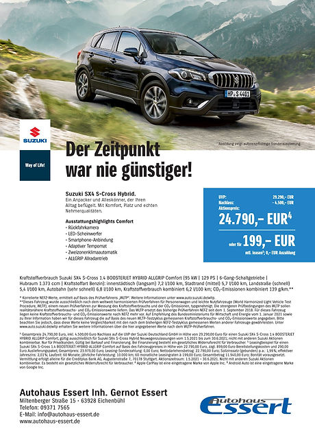 Sonderaktionen Suzuki Autohaus Essert 2.