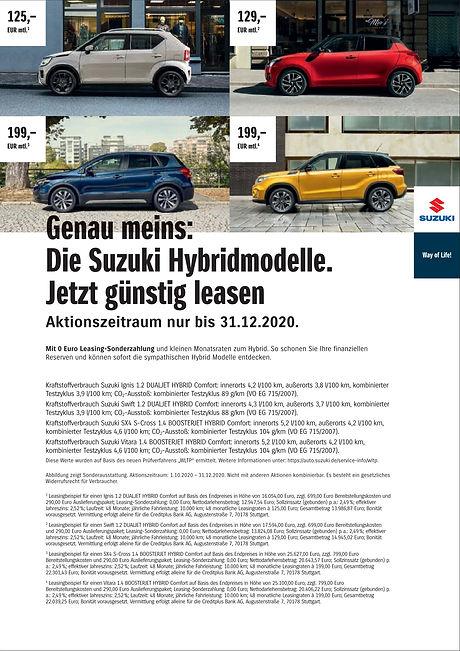 Autohaus Essert Suzuki Leasingwochen 4 M