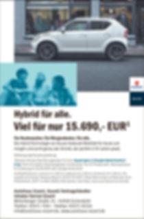 BAR Suzuki Ignis HYBRID Autohaus Essert.