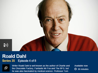 Tom discusses Roald Dahl with Matthew Parris on BBC Radio 4's Great Lives Programme