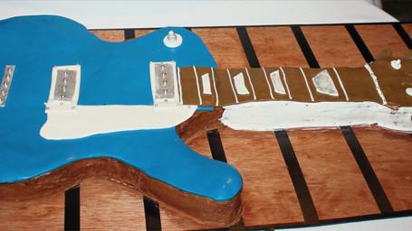 Les Paul Guitar Grooms Cake