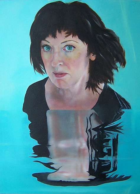 Highly commended portrait at The Hennessy Portrait Prize