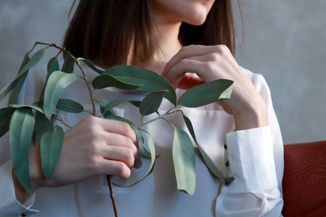 Canva - Woman Holding Green Leaf Plant.j