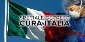 """Decreto Legge """"Cura Italia""""- estratto del comunicato stampa"""