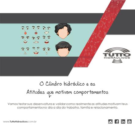 O Cilindro hidráulico e as atitudes que motivam comportamentos