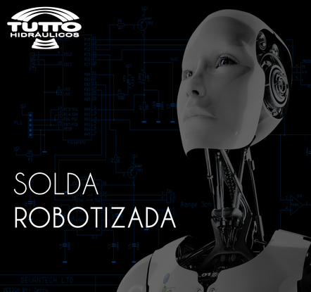 Cilindro com Solda Robotizada
