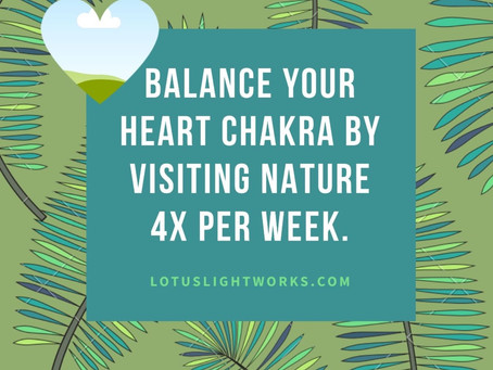 Nature Balances Your Heart Chakra