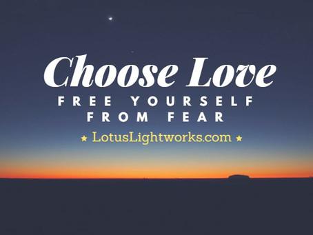 Love or Fear?