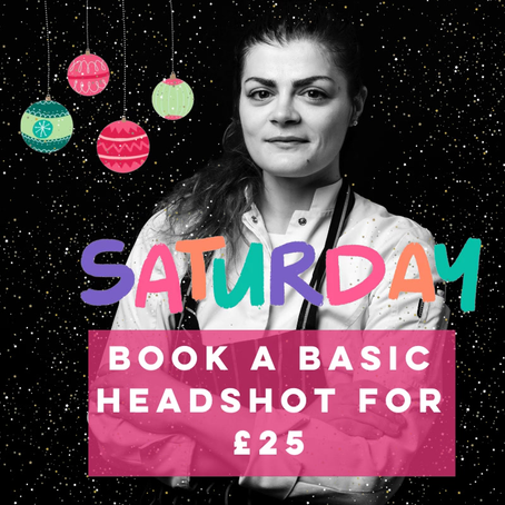 Basic Headshot only £25!