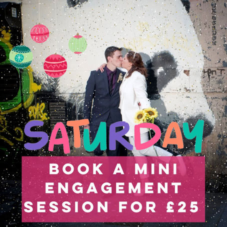 Mini Engagement Shoot only £25!