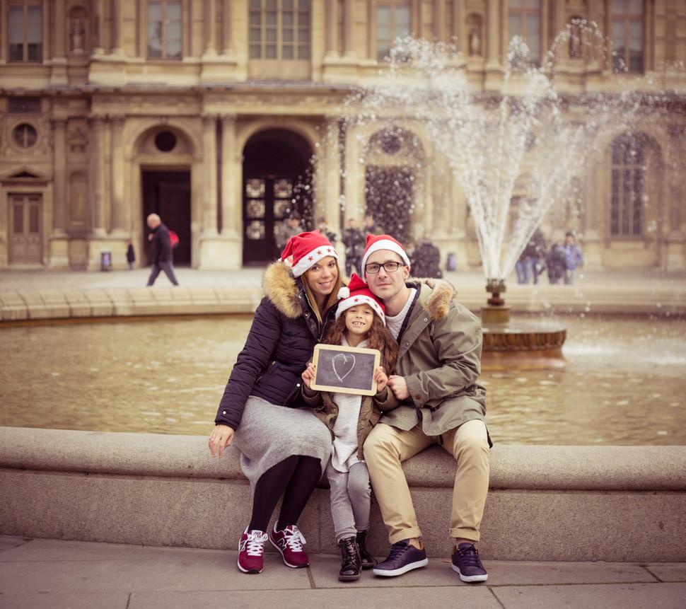 Séance photo de Famille Noel