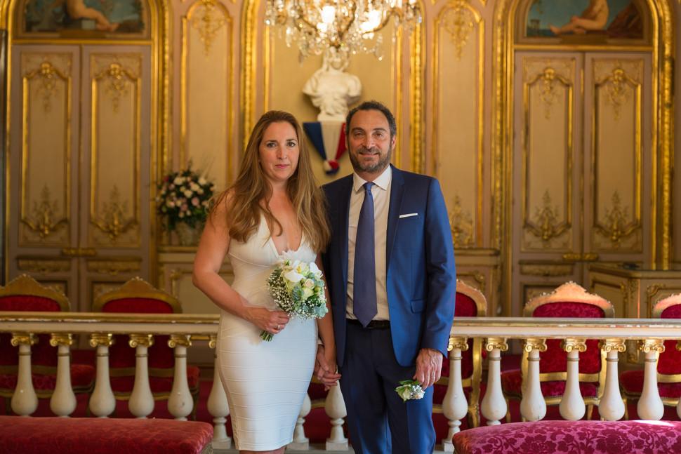 Reportage Photo Mariage sur la Seine d'Alexandre & Lara