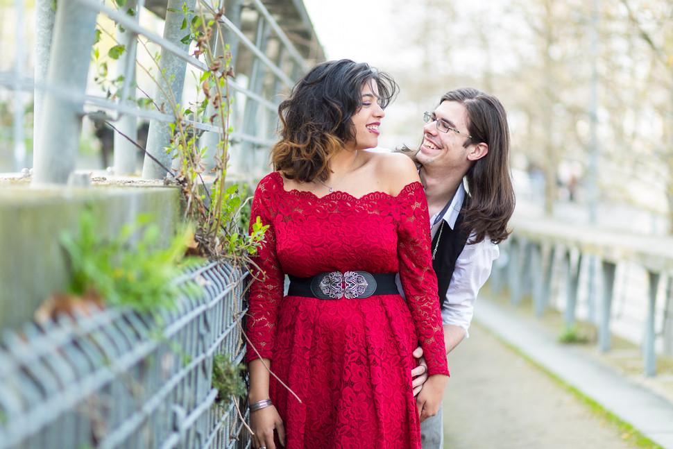 Séance couple à la BNF