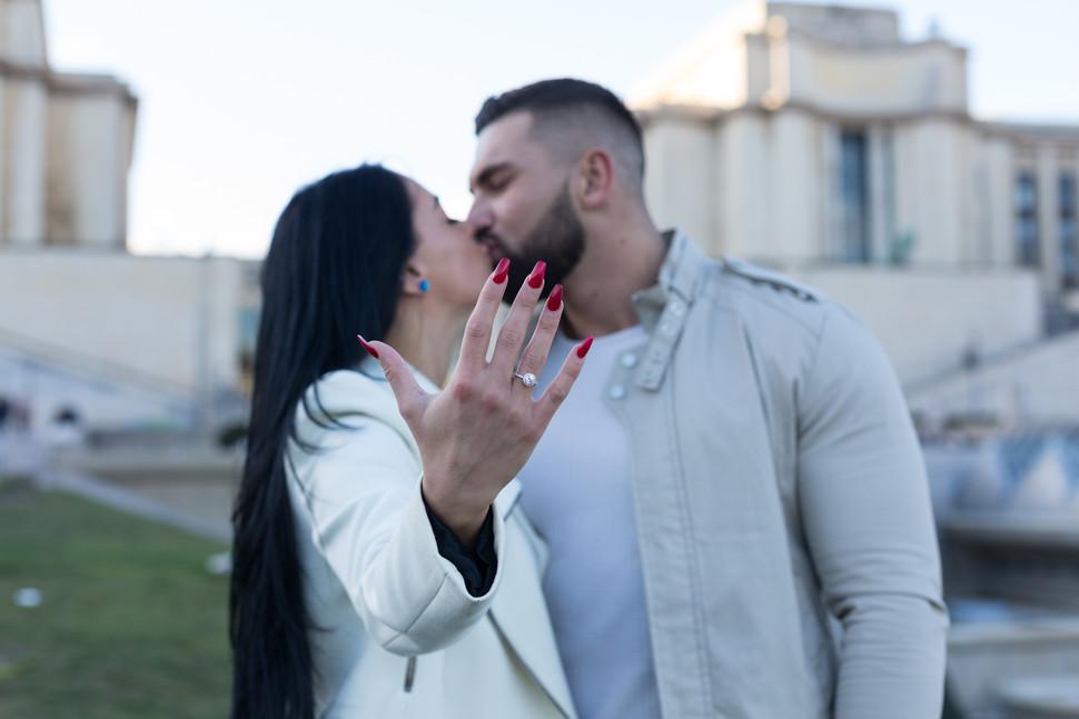 Séance photo - Demande en mariage