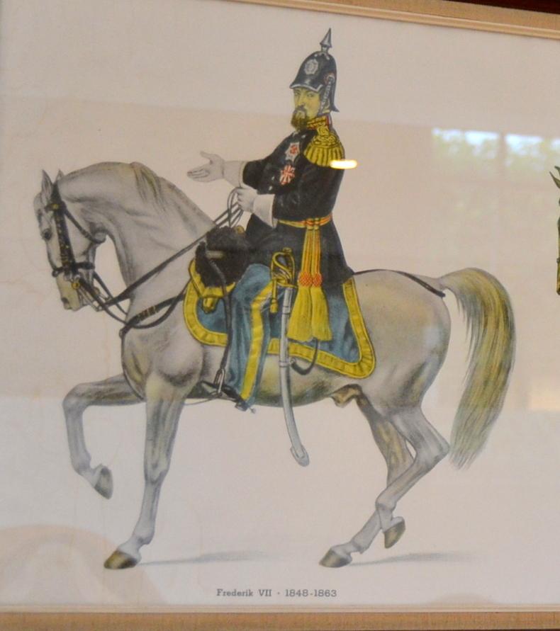 Kong Fredrik VII og Perlen