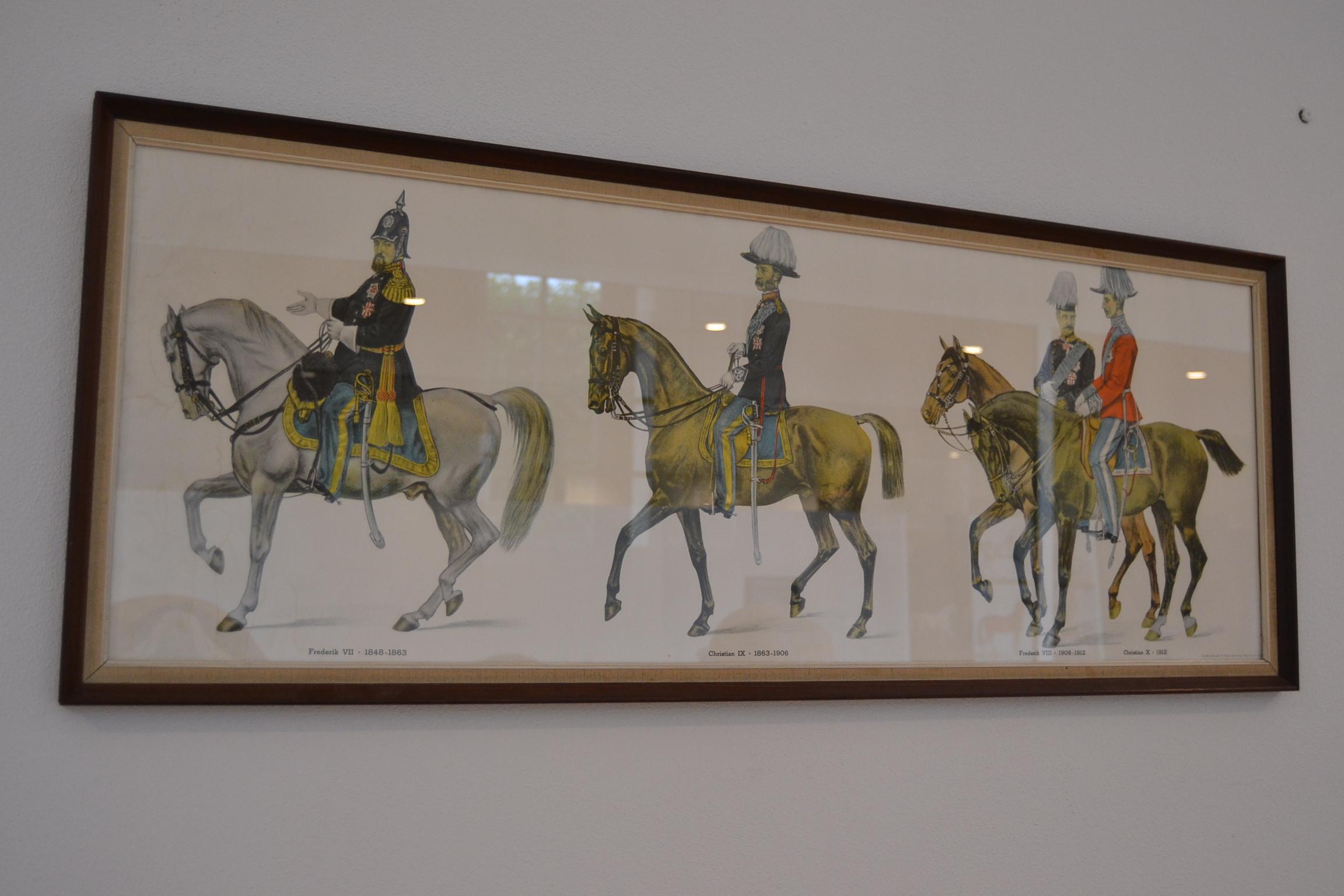 Danske kongers hester